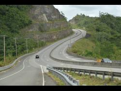 A section of the Edward Seaga Highway.