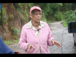 Adier Byfield, of Round Hill, Clarendon, is hopeful that the neglect of the road in his community will soon be a thing of the past.