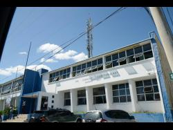 Morant Bay Police Station in St Thomas.