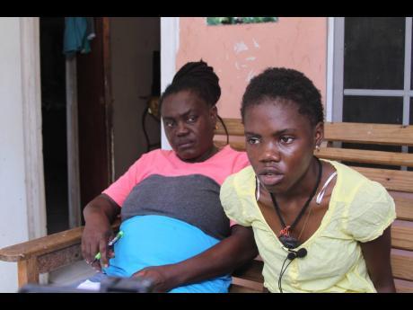 Shirley McIntosh (left) and daughter Princess Nzinga King.
