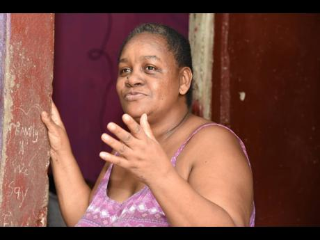 Yvette Gordon said that her mother used to tell her stories about Bob Marley all the time.